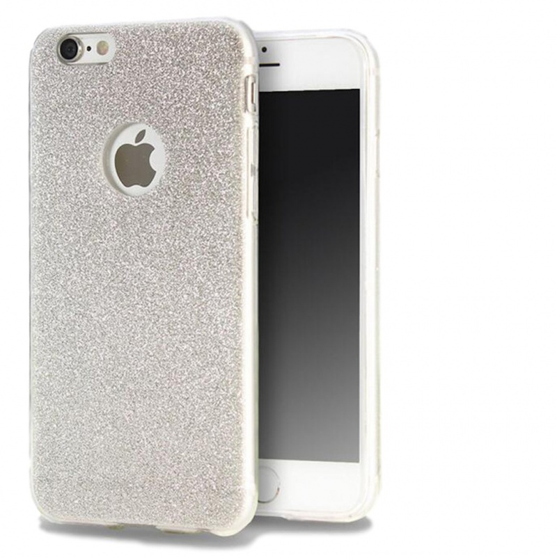Gumový Kryt se Třpytkami Pro Apple iPhone 6 Plus   6S Plus ... 8dad78a3d1d