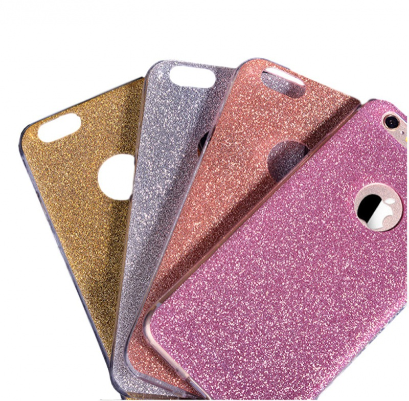 Gumový Kryt se Třpytkami Pro Apple iPhone 6 Plus   6S Plus ... f37d63e6d93
