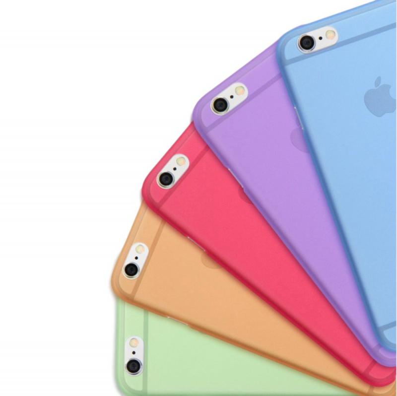 Ultra Tenký Plastový Kryt pro Apple iPhone 6 Plus  6S Plus (tl. 0 ... 679b7d66409